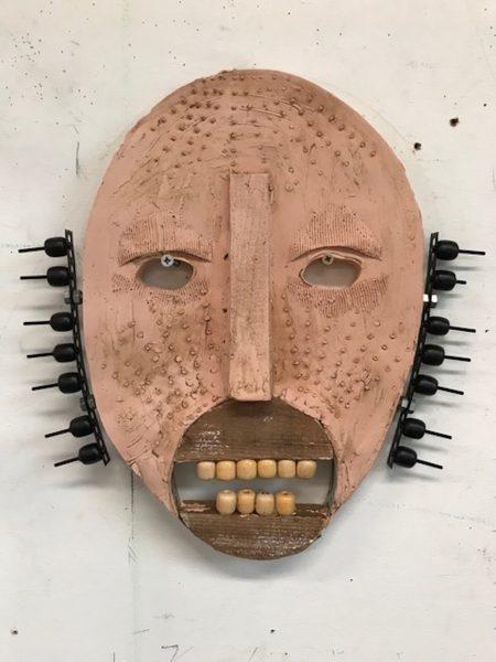 Dirk Zoete - Untitled, Plaster Mask 12, 2019