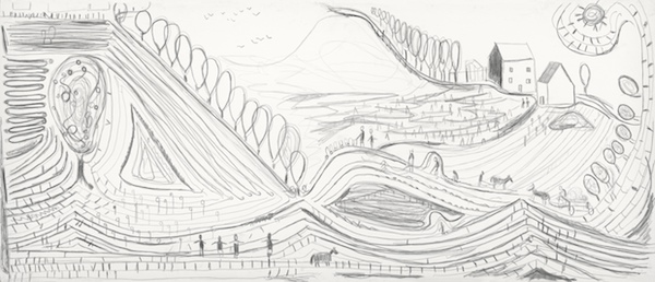 Dirk Zoete - Panoramic Landscape 2, 2017