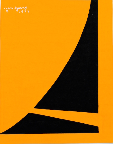 Jan Yoors - Untitled, 1977 (gouache)