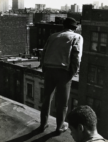 Jan Yoors - Untitled (Rooftop, Spanish Harlem), 1963