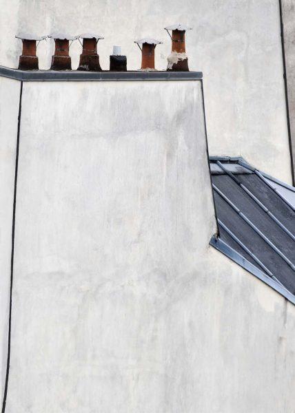 Michael Wolf - #15, Paris Rooftops, 2014