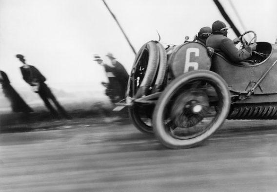 Jacques Henri Lartigue - Grand Prix de l'A.C.F. Automobile Delage Circuit de Dieppe, 1912