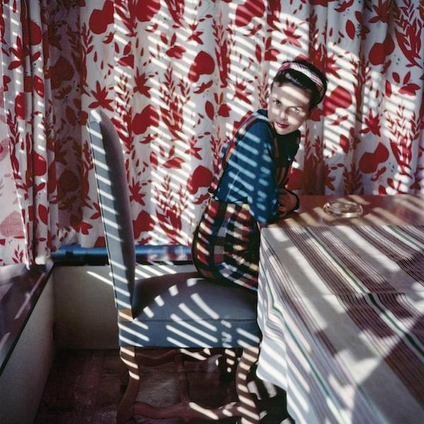 Jacques Henri Lartigue - Florette, Vence, 1954