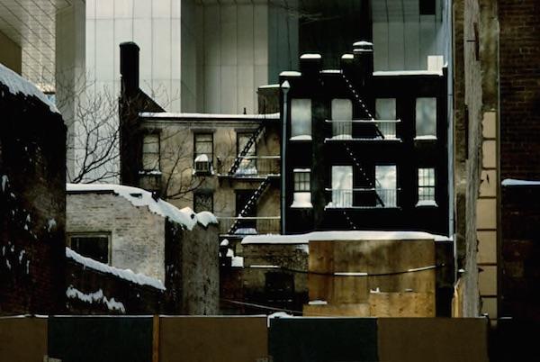 Frank Horvat - Sealed up Building, 1983