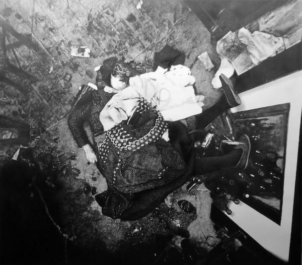 Eric Manigaud - Affaire de Colombes, assassinat des époux M..., vue de la salle à manger (plan), 2007