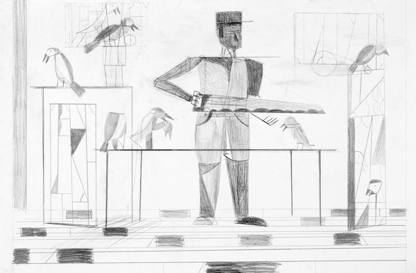 Dirk Zoete - A carpenter's dream, 2013