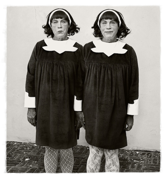 Sandro Miller - Diane Arbus/ Identical Twins, Roselle, New Jersey (1967), 2014