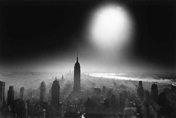 William Klein - Atom Bomb Sky, New York, 1955