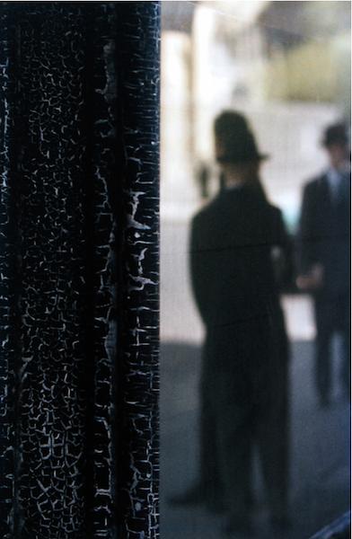 Saul Leiter - Cracks II, 1957