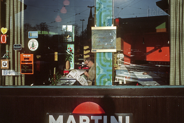 Harry Gruyart - Belgium, Brussels. Place Flagey, 1981
