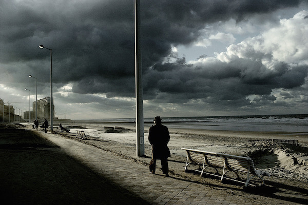 Harry Gruyaert - Belgium, Ostend, 1988