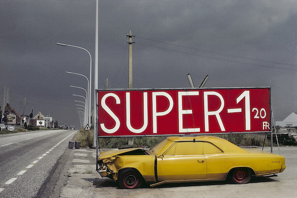 Harry Gruyaert - Belgium, Boom, National road #1, 1988