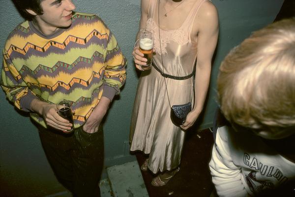 Harry Gruyaert - Brussels, night club, 1981