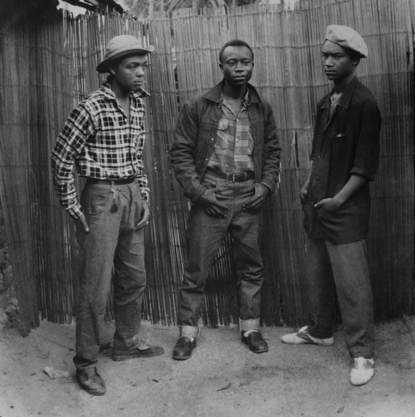 Jean Depara - Les jeunes cow-boys du quartier «Citas», 1958