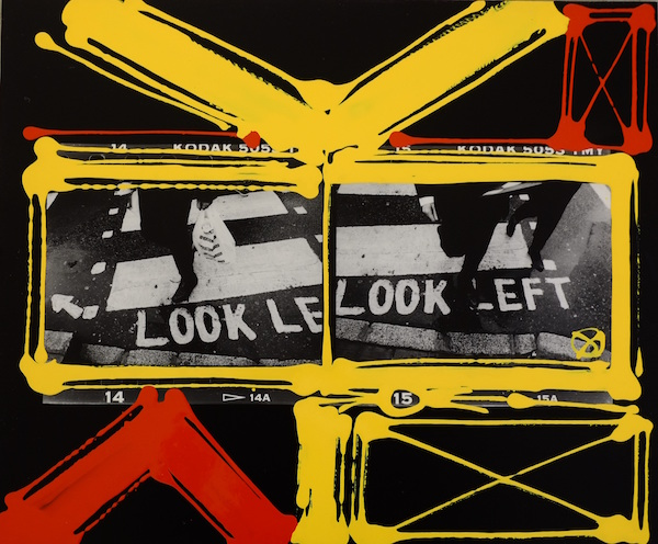 William Klein - Look Left, London, 2000