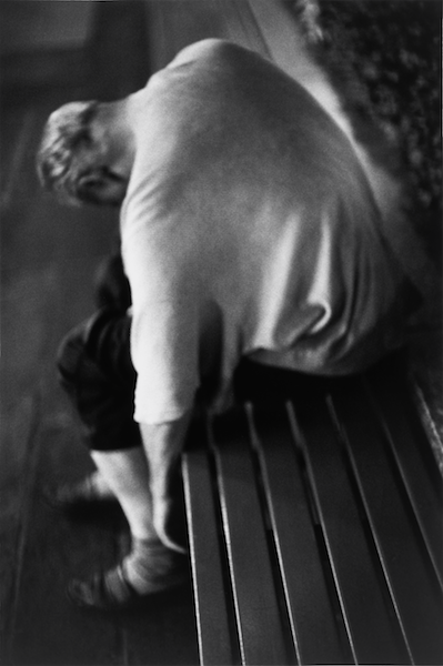 Louis Stettner - Nighttime, Man Sleeping, 2005