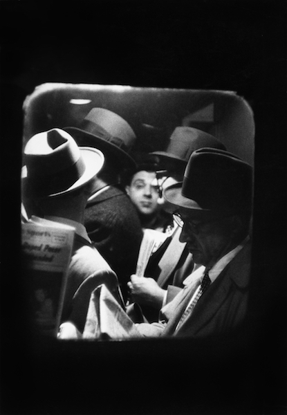 Louis Stettner - Odd Man in Penn Station, 1958