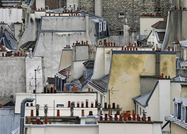 Michael Wolf - # 1, Paris Rooftops, 2014
