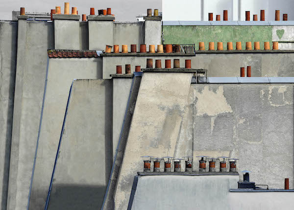 Michael Wolf - # 4, Paris Rooftops, 2014