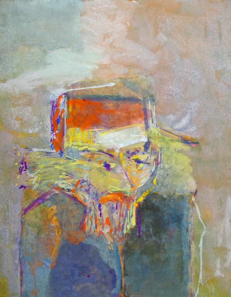 Saul Leiter - A Very Short Rabbi, ca. 1960