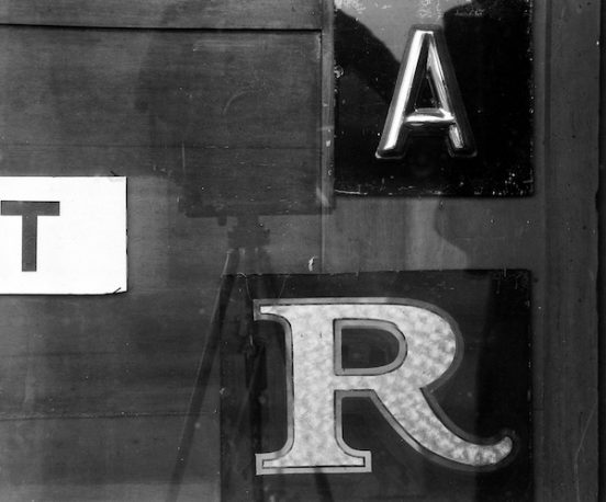 Arnold Newman - Letters, New York City, 1941