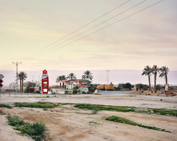 Yaakov Israel - Petrol Station, The Judean Desert, QMWD, 2011