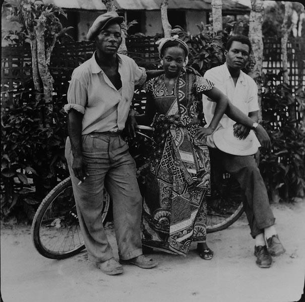 Jean Depara - Quartier Borumbu, 1958