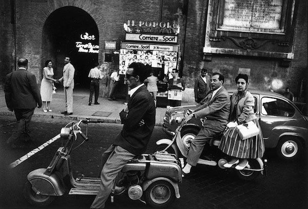 William Klein - Red Light, Rome, 1956