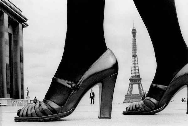 Frank Horvat - Paris, Shoes and Eiffel Tower (a), 1974