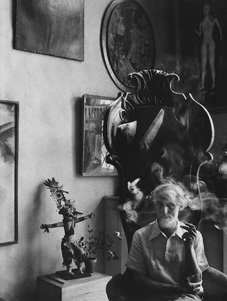 Arnold Newman - Max Ernst, New York, 1942
