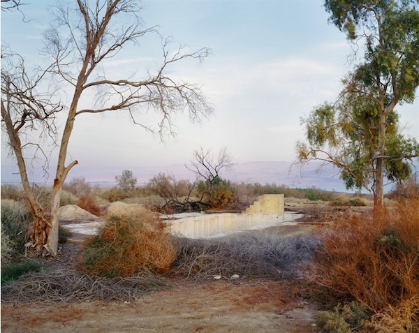Yaakov Israel - Swimming Pool, Northern Judean Desert, QMWD, 2011