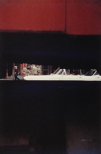 Saul Leiter - Through Boards, 1957