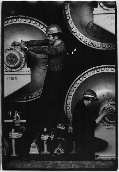 Louis Stettner - Paper Factory, USSR, 1975