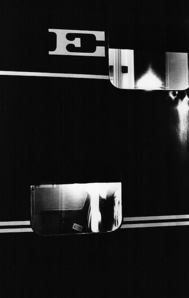 Louis Stettner - Train E, 1958