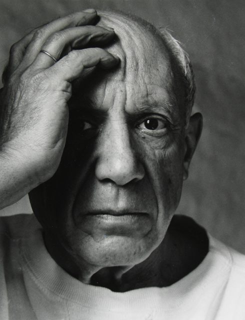 Arnold Newman - Pablo Picasso, Vallauris, France, 1954