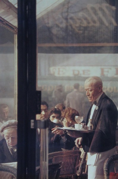 Saul Leiter - Waiter, Paris, 1959