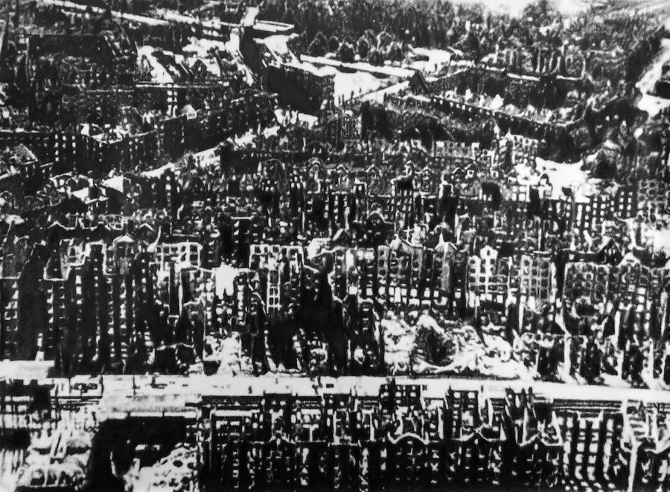 "Eric Manigaud - Hambourg, 1945 de la série ""1939-1945"", 2013"
