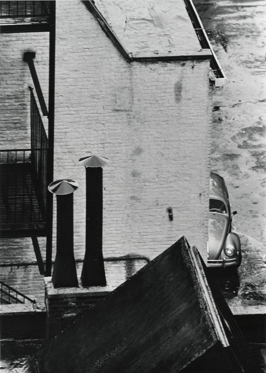 André Kertész - Untitled (street view), 1962