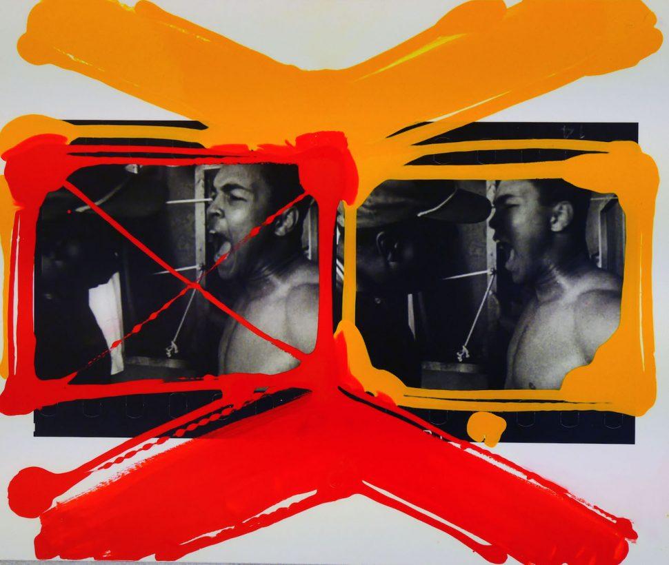 William Klein - M. Ali + Bundini, Miami 1964