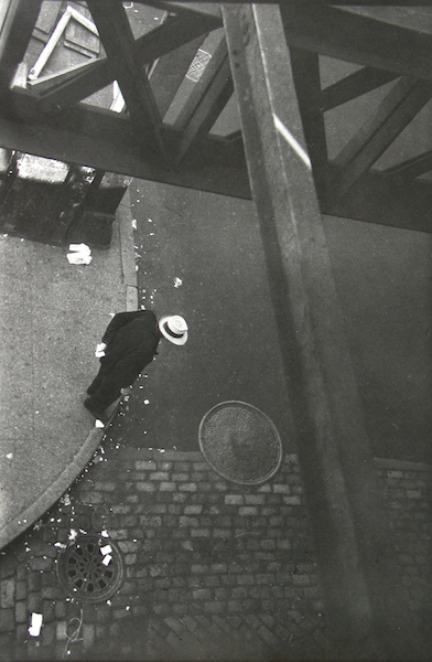 Saul Leiter - From the El, c. 1955