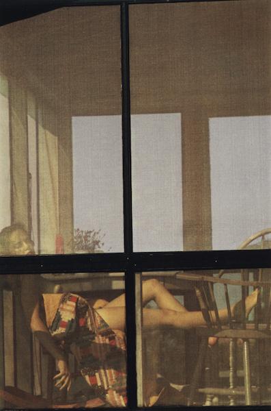 Saul Leiter - Lanesvile (variant), 1958
