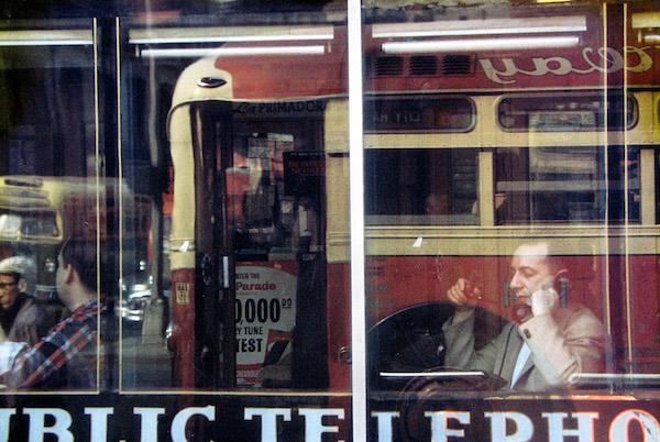 Saul Leiter - Phone Call, 1957