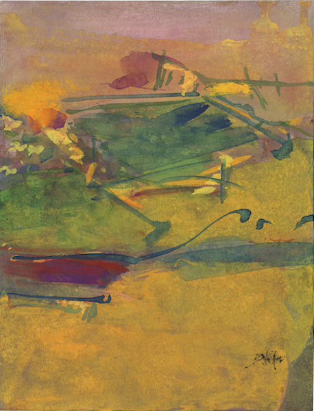 Saul Leiter - Departure, 1992