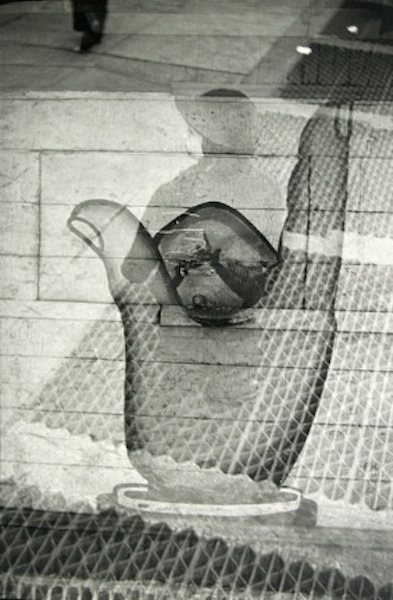Saul Leiter - Accident (double exposure), c. 1946