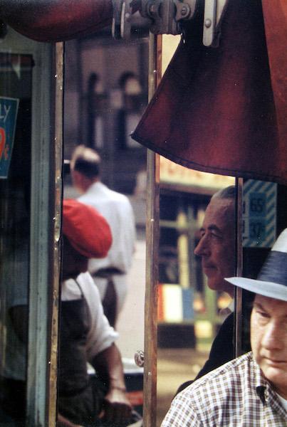 Saul Leiter - Reflection, 1958