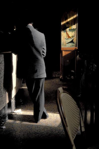 Harry Gruyaert - France, Paris. Café la Palette, 1985
