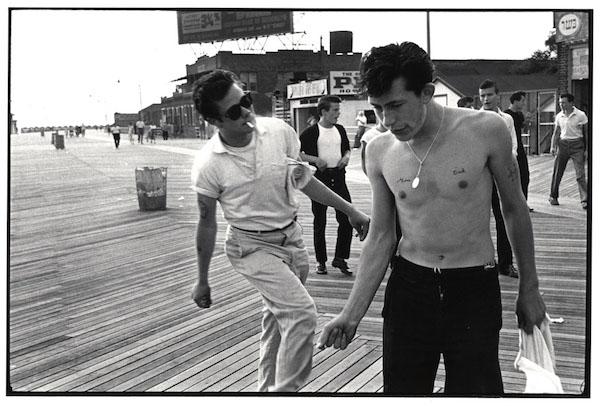 Bruce Davidson - Boys Jiving on Boardwalk, Brooklyn Gang, 1959