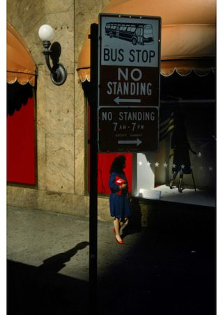 Harry Gruyaert - USA, New York City. Street Scene, 1985
