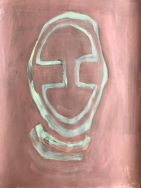 Arpaïs Du Bois - étrangler la tradition masquée, 2020