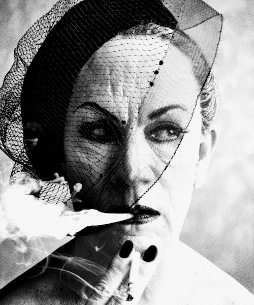 Sandro Miller - William Klein/ Smoke and Veil, Paris (Vogue 1958), 2014